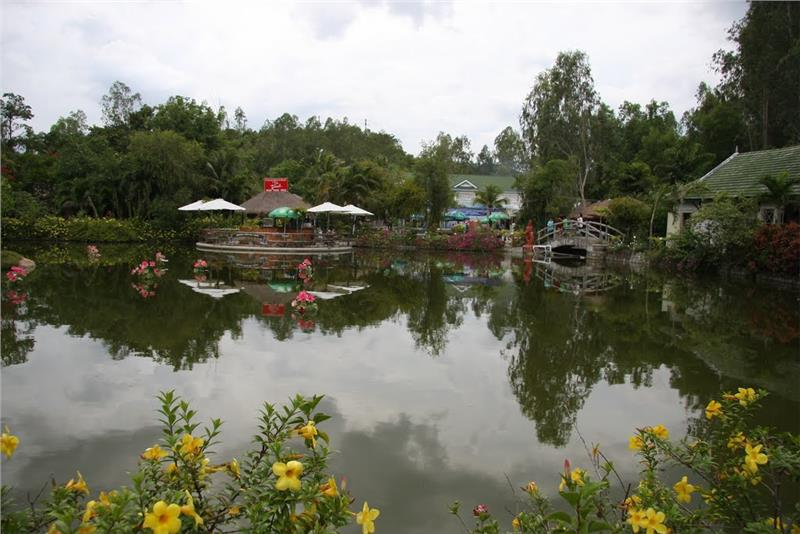 Magnificent scenery in Thap Ba Hot Springs