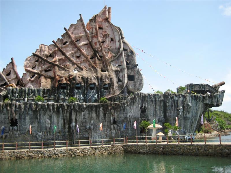A corner of Tri Nguyen Aquarium