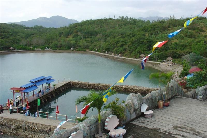 View from Tri Nguyen Aquarium