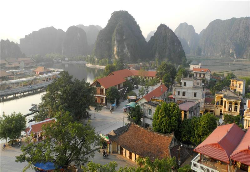 A view of Ninh Binh
