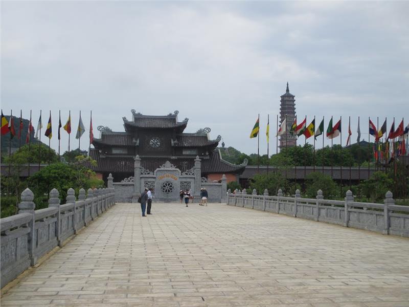 Facade of Tam Quan Noi