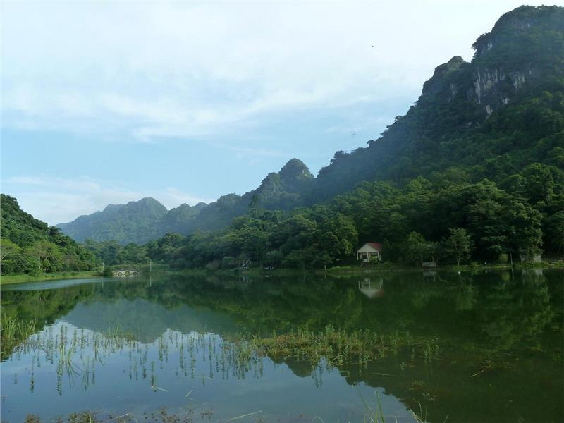 Mac Lake in Cuc Phuong National Park
