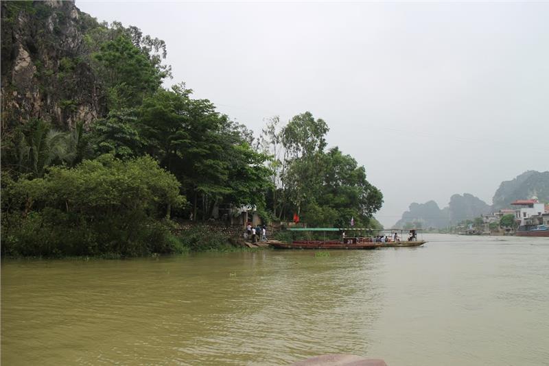 Entrance to Kenh Ga Hot Springs