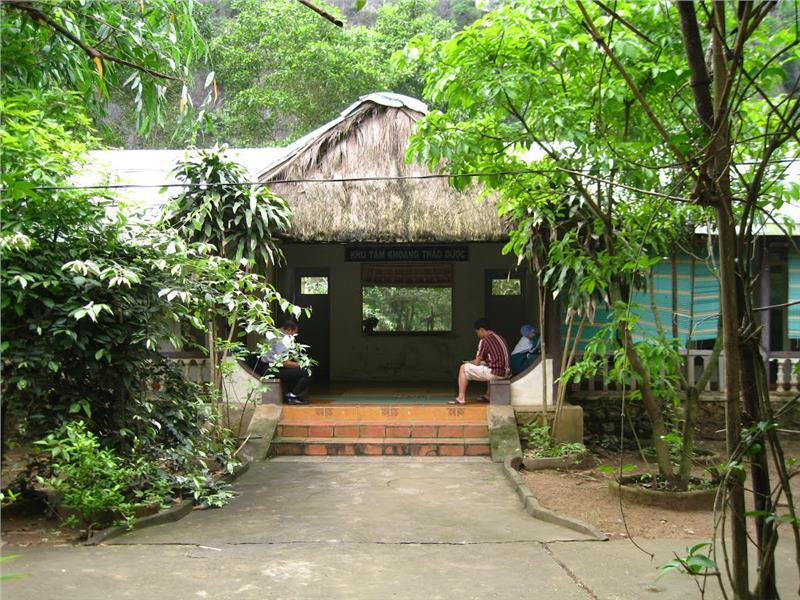 Herbal Mineral Bath at Kenh Ga Hot Springs