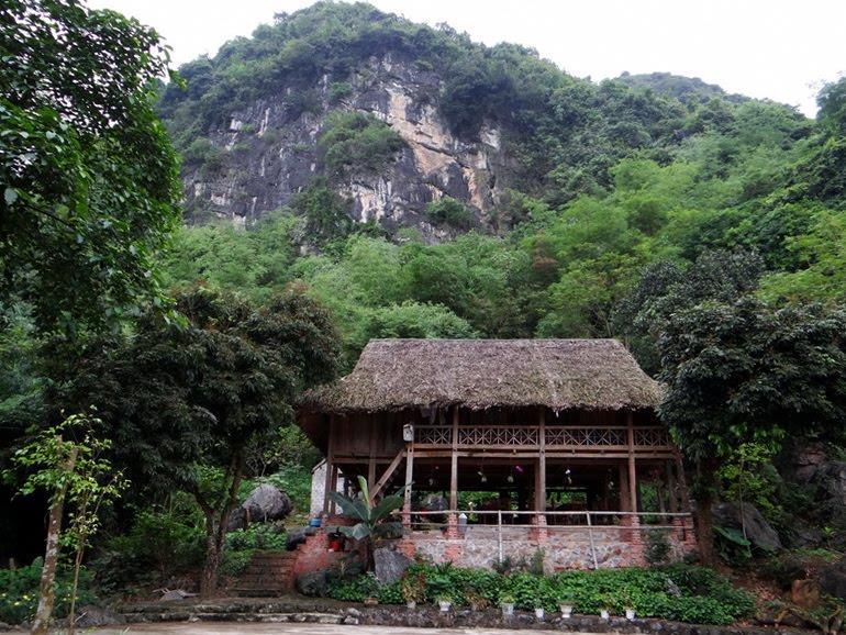 Thung Nham ecotourism area - stilt-house