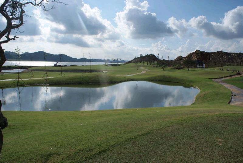 Royal Golf Course near Yen Thang Lake