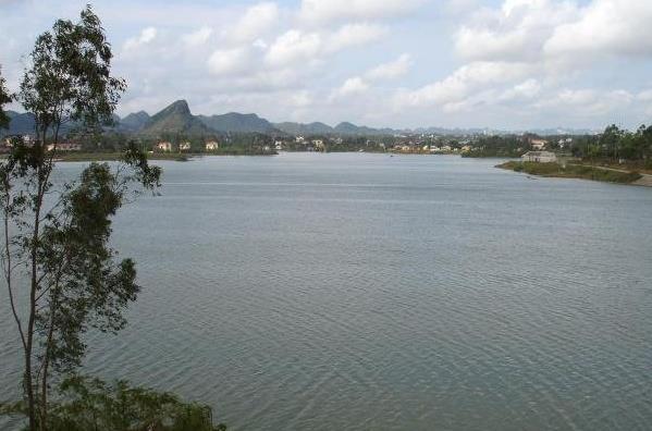 View from Yen Thang Lake