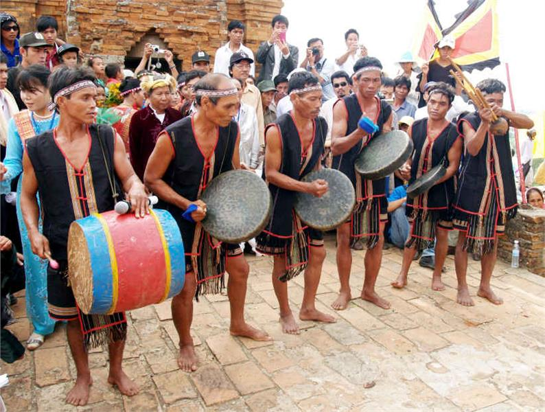 Traditional performance of ethnic group in Kate Festival