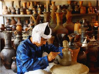 Traditional craft exhibition in Ninh Thuan