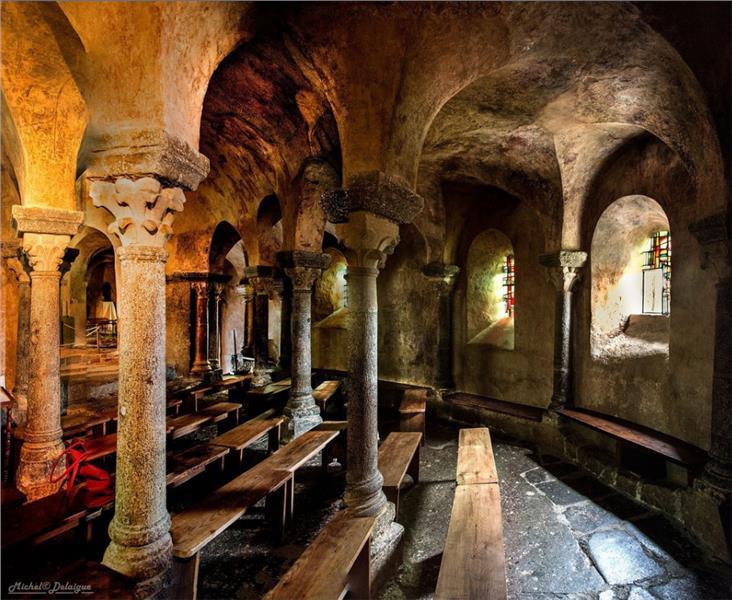 Inside Saint Michel d Aiguilhe