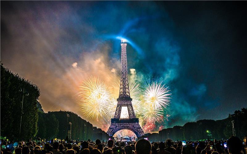 Đón năm mới ở Pháp
