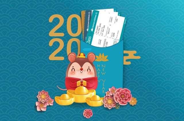 Đặt vé máy bay Tết 2020 Vietnam Airlines giá rẻ