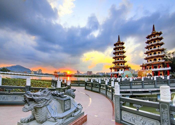 Đài Loan (Cao Hùng- Đài Trung- Đài Bắc)