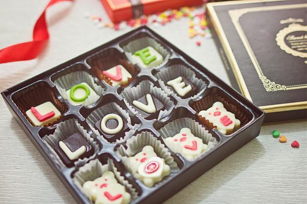 Quà chocolate ngày lễ Tình Yêu
