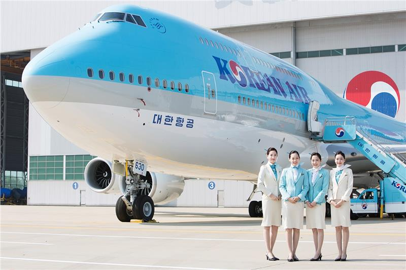 Korean Air B747 8i