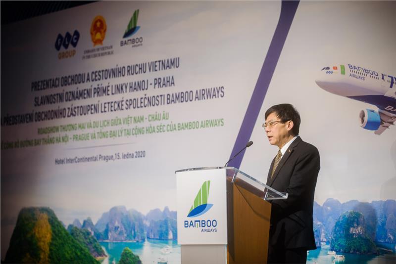 Bamboo Airways and Prague International Airport signed Memorandum of Understanding (MoU)