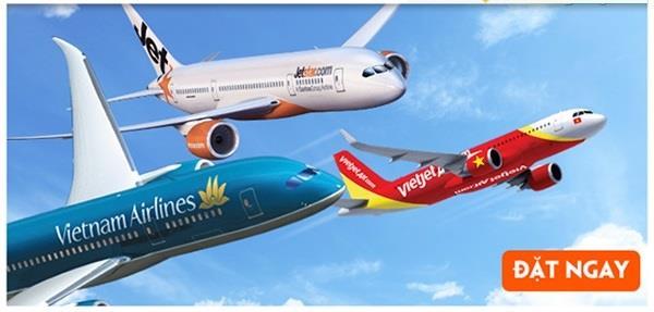 Các hãng hàng không quốc tế tại nội địa