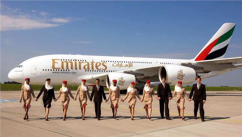 Emirates Cabin Crew team