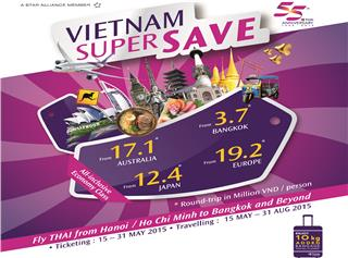 Thai Airways ticket promotion on 55th birthday anniversary