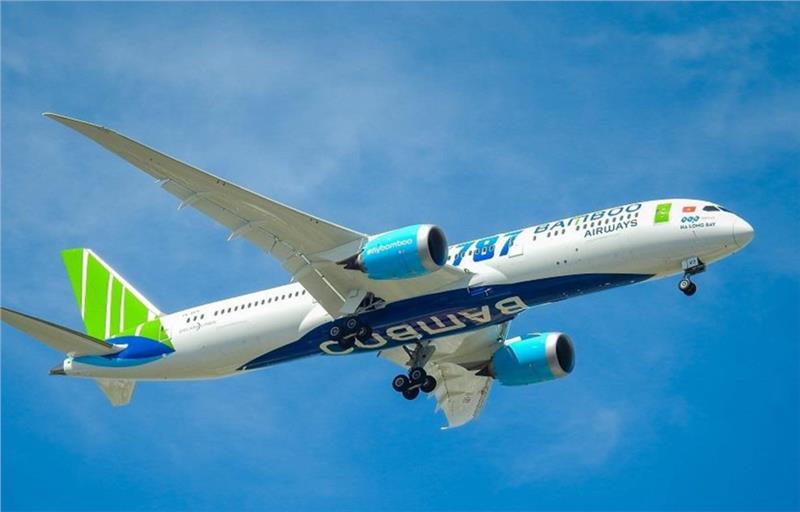 The Boeing 787-9 Dreamliner is used to operate Hanoi - Prague - Hanoi routes