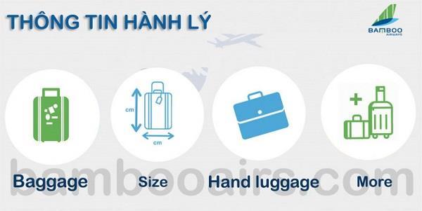 Thông tin quy định về hành lý