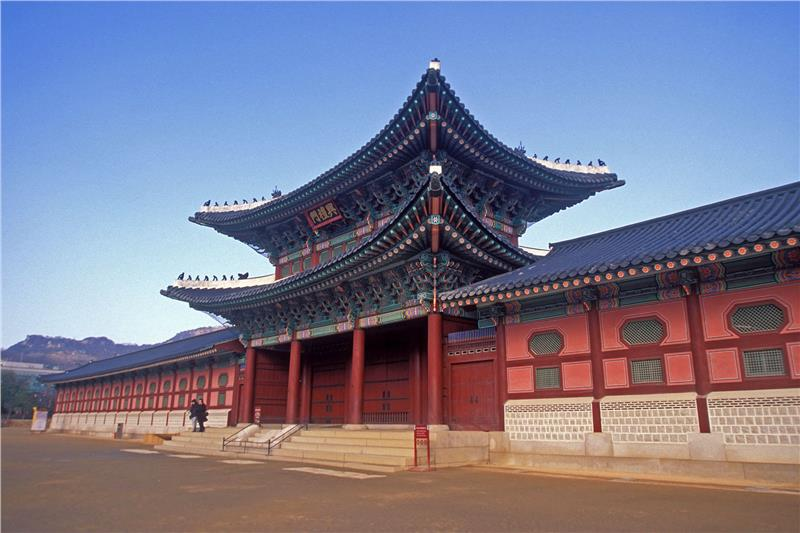 Gyeongbok Palace in Seoul
