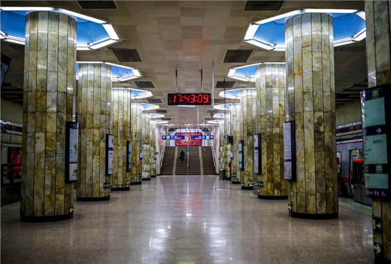 Subway Tunnel in Beijing