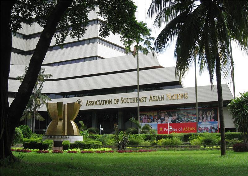 The headquarter of ASEAN in Indonesia