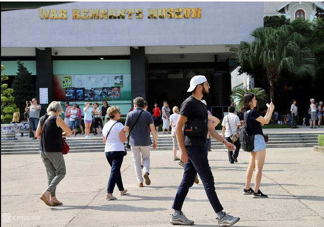 Tourists to Saigon increases amid Covid 19