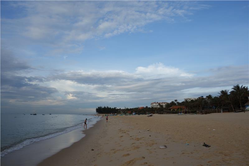 Rang Beach in the morning