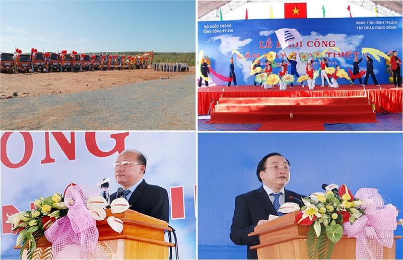 Breaking ground ceremony of Phan Thiet Airport