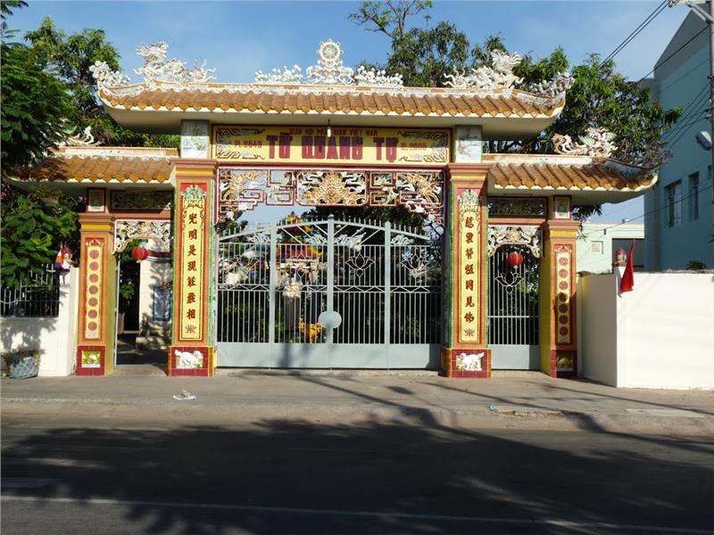 Tu Quang Tu pagoda in Phan Thiet