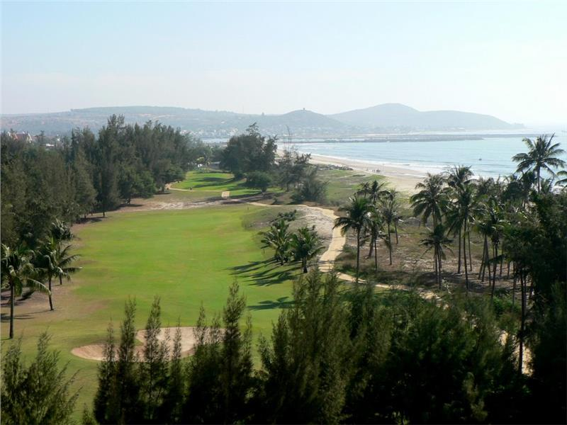 A scene of Ocean Dunes Golf Club in Phan Thiet
