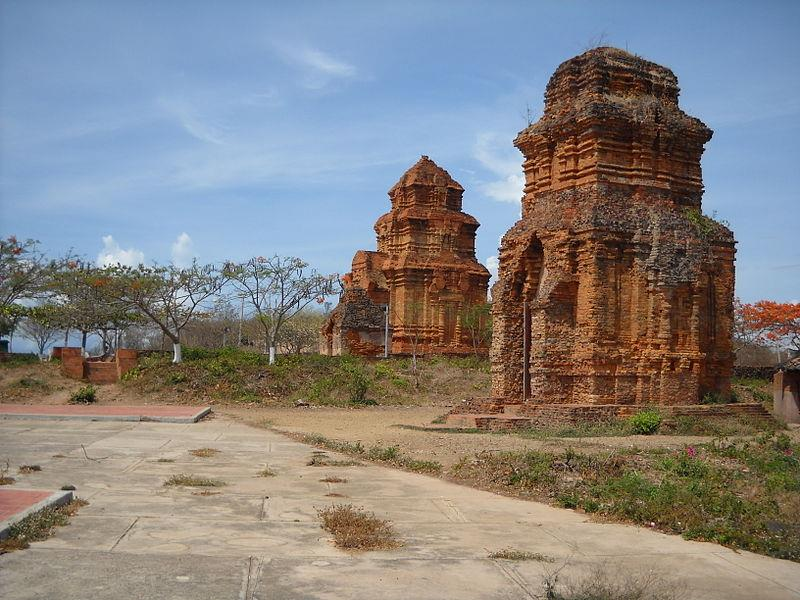 Poshanu Tower in Phan Thiet