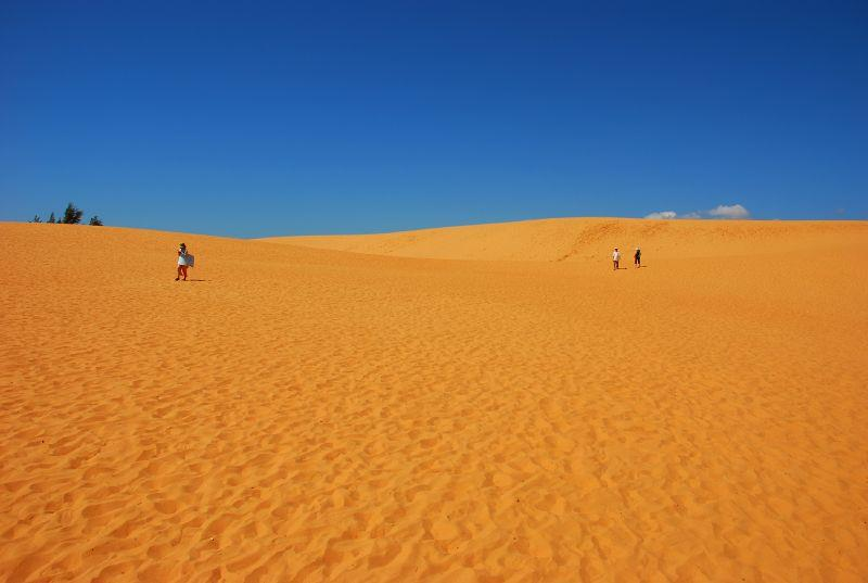 A beautiful corner of Red Sand Dunes