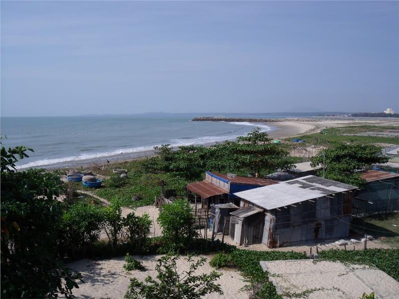 Phu Hai coast view from Prince Castle