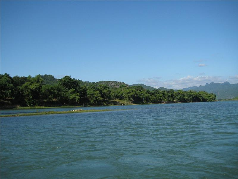 Son River at Phong Nha Ke Bang National Park