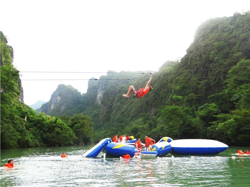 Zip-line tours in Phong Nha - Ke Bang