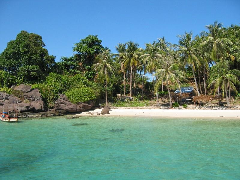 A scenery of Phu Quoc Island