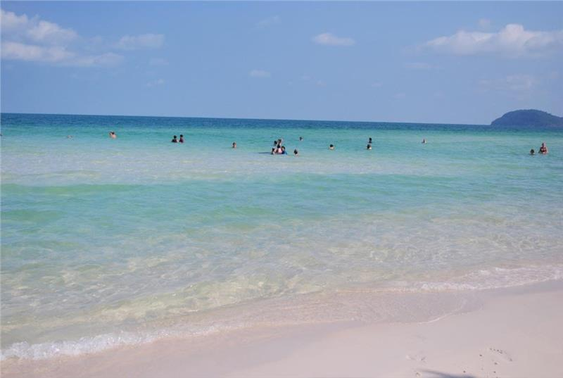 Pristine beauty in Khem Beach