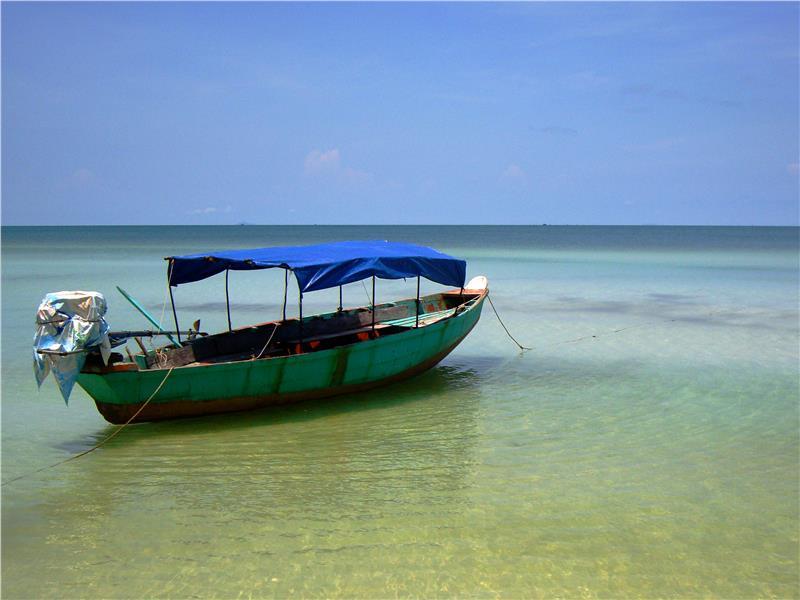 Sao Beach at Phu Quoc