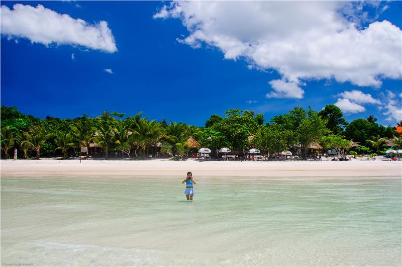 Sao Beach in Phu Quoc