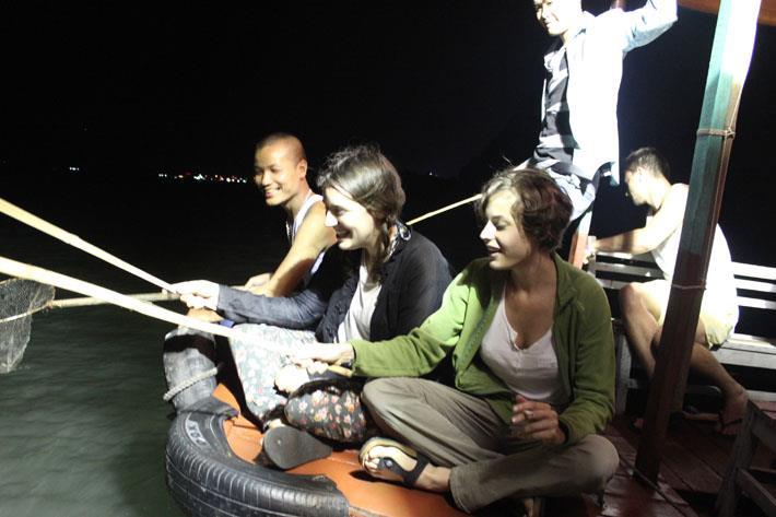 Participate in squid fishing Phu Quoc