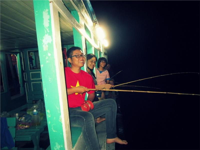 Squid fishing trips in Phu Quoc