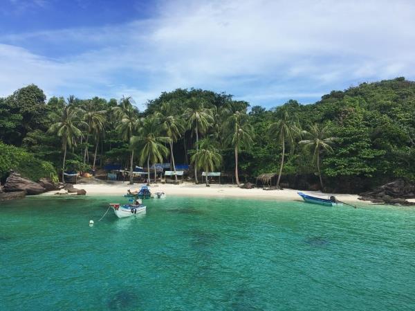 """Hòn Móng Tay: hoang đảo Robinson """"đẹp mê hồn"""" tại xứ Kiên Giang"""