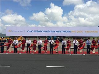 Vietnam Airlines launched new route Phu Quoc - Singapore