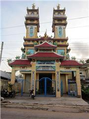 Cao Dai Temple Phu Quoc