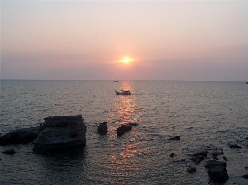 Sunset on Dinh Cau