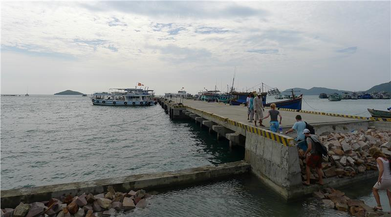 Duong Dong Habour in Phu Quoc Island