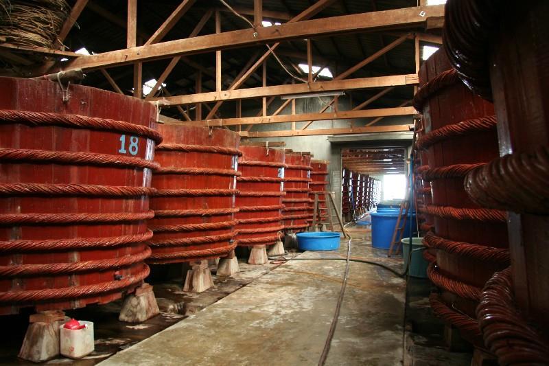 Fish Sauce Factory in Phu Quoc
